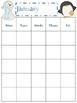 School Calendar for Any Year