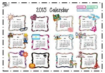 School Calendar in Argentina