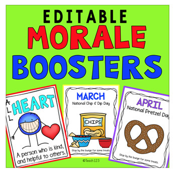 Teacher Morale Boosters Sunshine Committee School Climate