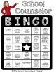 School Counselor Bingo