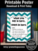 School Counseling Confidentiality Rules Poster Gift Psycho