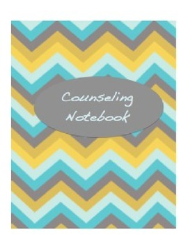 School Counselor Notebook Cover Pages