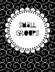 School Counselor Organization Pack: Black & White