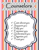 School Counselor Signs, Decor
