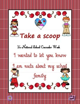 School Counselor Week Poster #5