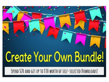 School Counselors: Create your OWN Product Bundle!