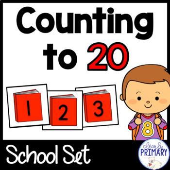 Numbers 1-20: School