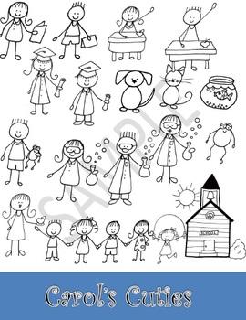 School Day Clip Art - KidsCollection