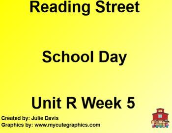 School Day SmartBoard Companion Reading Street Common Core