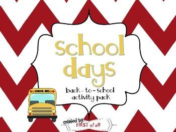 School Days Back to School Pack