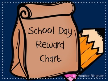 School Days Reward Chart