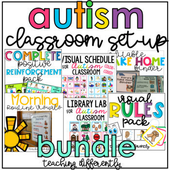 School Essentials Bundle {for Autism and Special Education