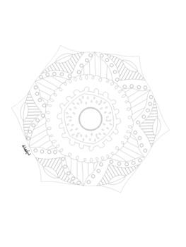 Coloring Book: School Favorites 40 Mandala Creative Design