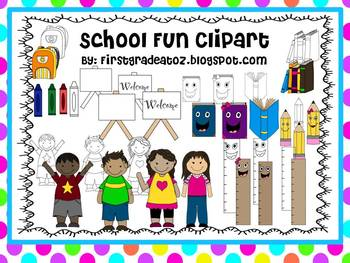 School Fun Clipart