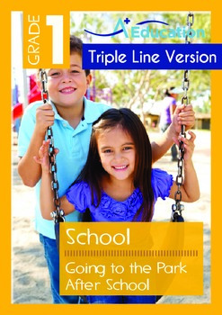 School - Going to the Park After School (with 'Triple-Trac
