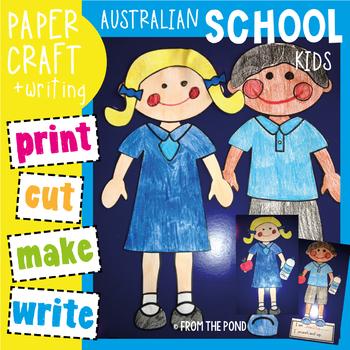 School Kids Craftivity - Perfect for Australian Back to School