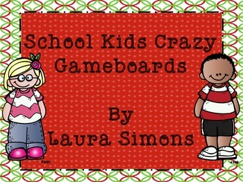 School Kids Gameboard Set