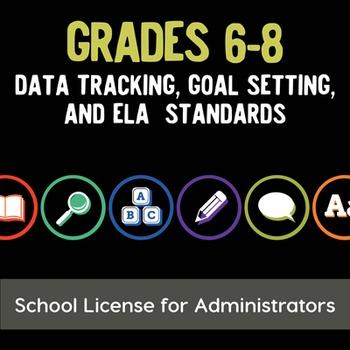 School License: Data Tracking, Goal Setting, & ELA Standar