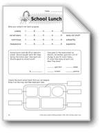 School Lunch (Thinking Skills)