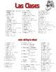 School, Numbers, Math, Music, and Art Spanish Vocabulary C