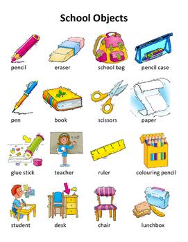School Objects Grade 2