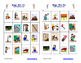 School Objects and Verbs Bingo with Multi-lingual Calling