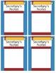 School Post It Notes Holder Set