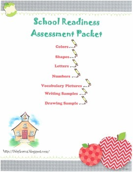 School Readiness Assessment Packet
