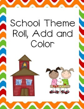 School Roll Add and Color