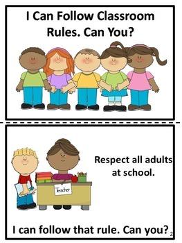 School Rules Easy Reader