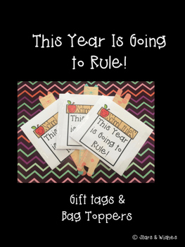 School Rules Gift Tags
