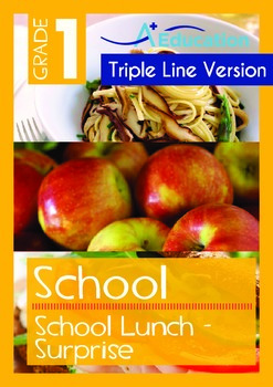 School - School Lunch: Surprise (with 'Triple-Track Writin