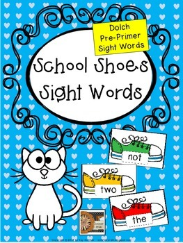 Sight Words {Dolch Pre-Primer}