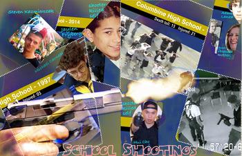 School Shootings FREE POSTER ~ Top 25 American Cases