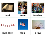 School Sign Language (ASL) Cards