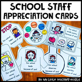 School Staff Thank You Cards