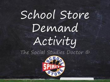 School Store Demand Activity