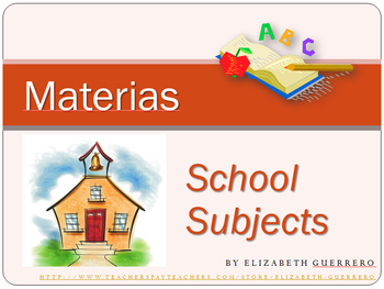 Spanish School Subjects: Talking About Classes & Sequencin