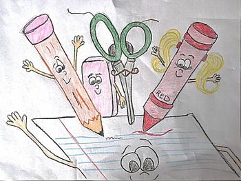 School Supplies - Clipart