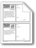 School Supplies (Grade 4 Daily Word Problems-Week 1)