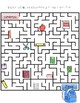 School Supplies Maze