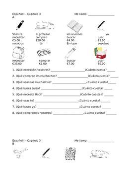 School Supplies Partner AB conversation practice