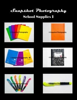 School Supplies Set 1