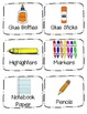 Supply Labels (Student Supplies)