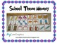 School Theme Memory Game