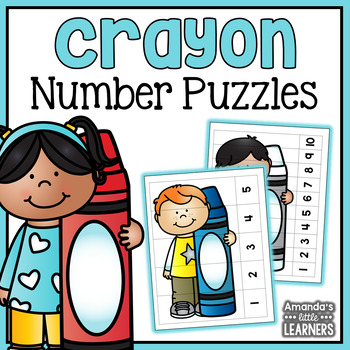 Crayon Number Puzzles