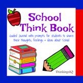 School Think Book Student Journal