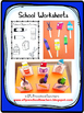 School Worksheets for Preschool ELL