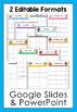 School Year Calendars (Editable)