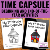School Time Capsule - Beginning and End-of-Year Activities